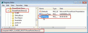 EditFlags in the Registry Editor