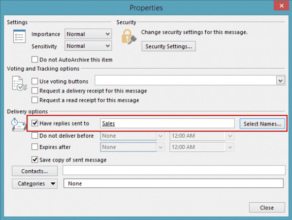 how to make other recipients invisible in outlook