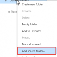 Open Shared Mailboxes in Outlook on the Web