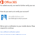 Office Modern Authentication Public Preview