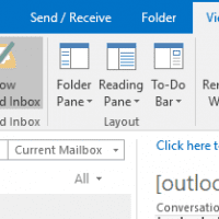 Focused Inbox is not available in Outlook