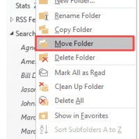 Quick Tip: Move Folders Between Data Files
