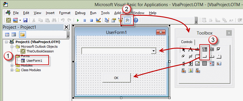 VBA UserForm Sample Select From A List Of Templates