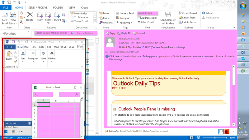 Microsoft Office Outlook 2013 Themes - The best free software for ...