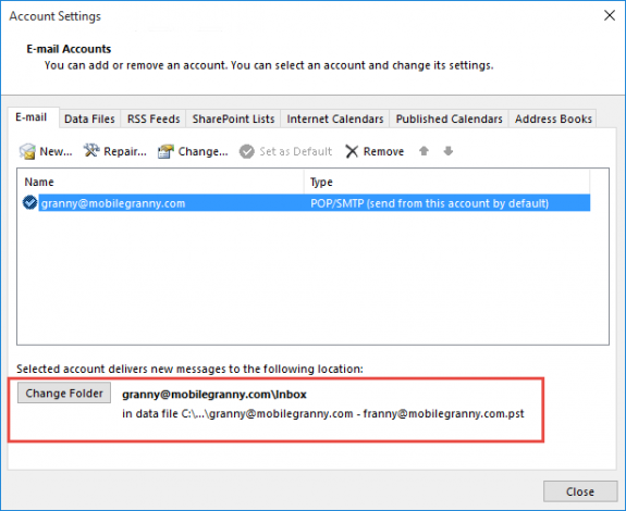 verify correct pst is set as delivery location