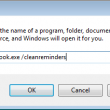 Open the run dialog to use a switch
