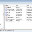 Registry Editor for ForcePSTPath