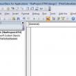 Script in the VBA Editor