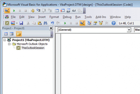 Outlook's Rules and Alerts: Run a Script