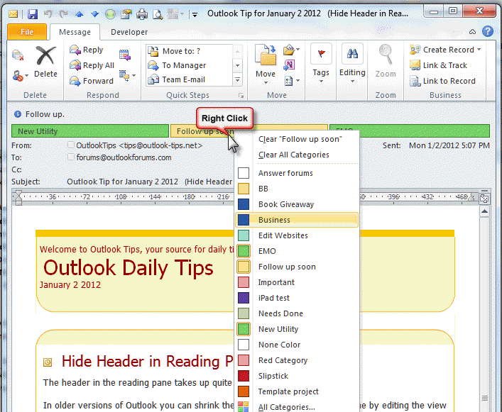 outlook task assign vba