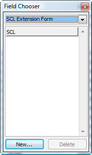 Use the field chooser dialog to add fields to Outlook