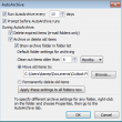 Global AutoArchive Settings in Outlook