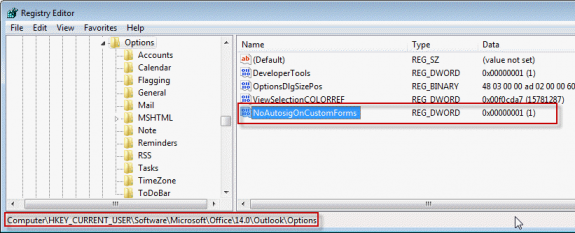 No AutoSignature on Templates and Custom forms