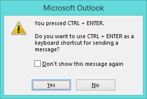 ctrl-enter