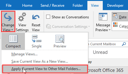 copy view to other folders