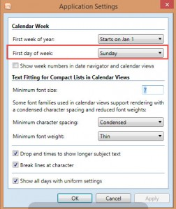 CPAO Application Settings