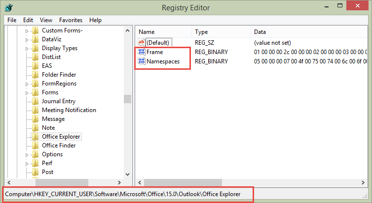 Outlook Windows won't open or resize