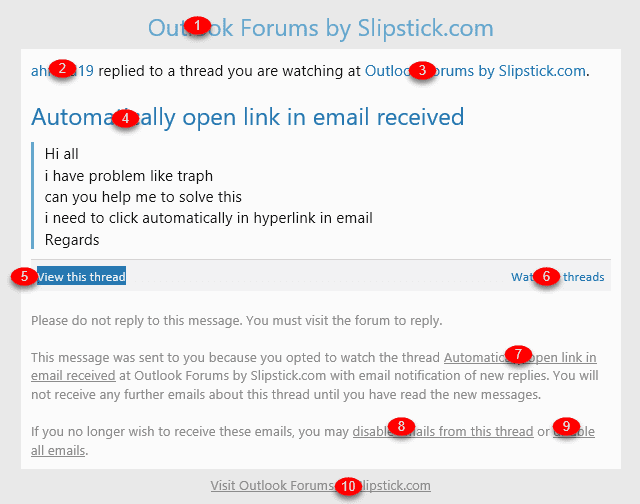 Open All Hyperlinks in an Outlook Email Message