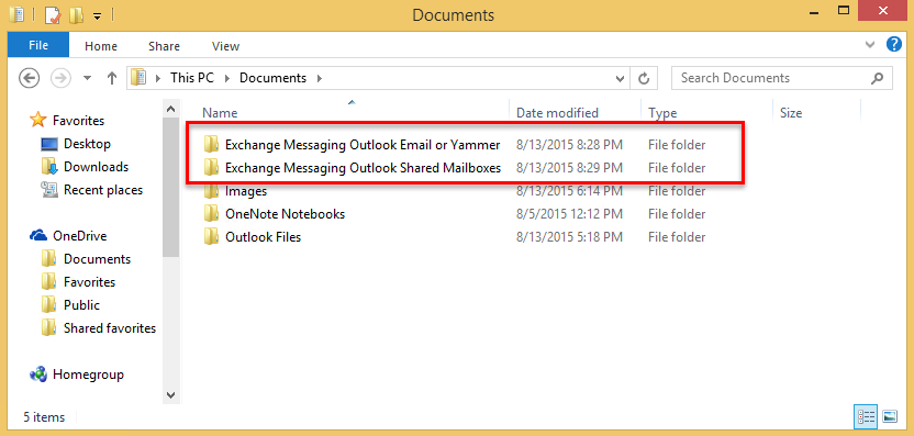 Save Messages and Attachments to a New Folder