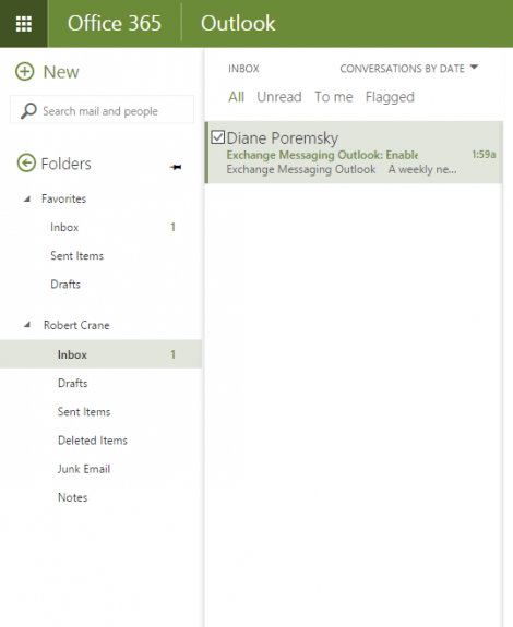 Enable Office 365 Exchange Online Archive