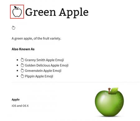Copy the emoji