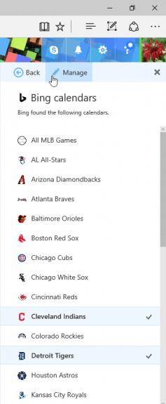 choose a sports team