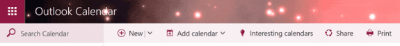 add calendars to Outlook on the web