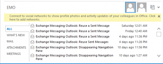 add- sharepoint provider message