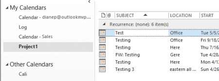 How to Import Appointments into a Group Calendar
