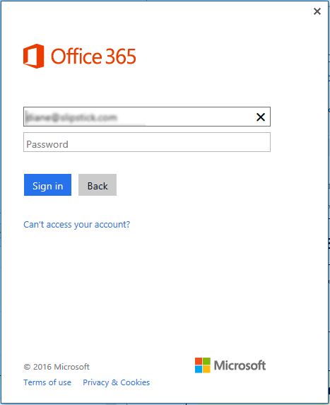 Using Multi Factor Auth in Outlook 2013