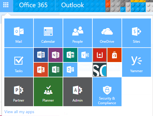 Office 365 Launcher