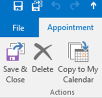 Copy Appointments to a Second Calendar