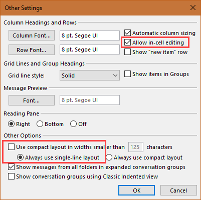 enable incell editing