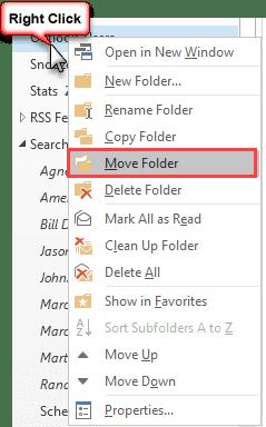 move folder command