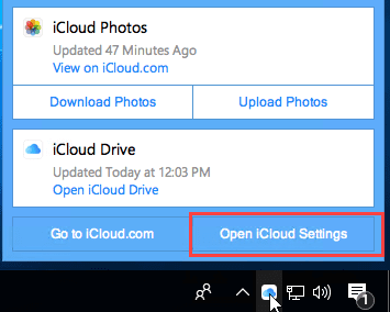 iCloud Add-in is not listed in Outlook Add-ins