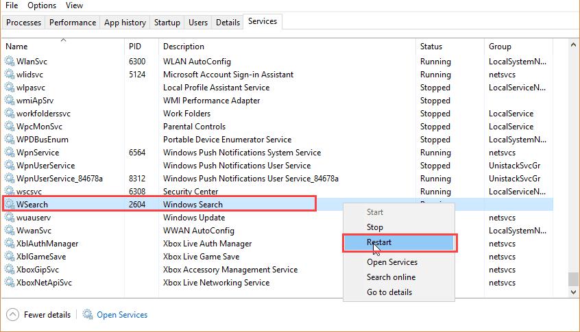 Fixed: Search Broken in Outlook 2016 POP Accounts