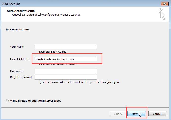 Tutorial: Set up Outlook com account to sync Calendar and