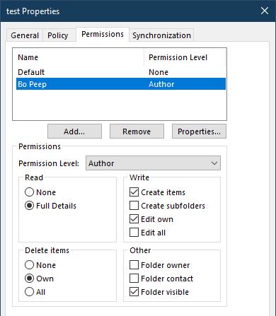 set permissions using a macro