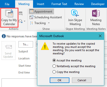 How to Create a Pick-a-Meeting Request