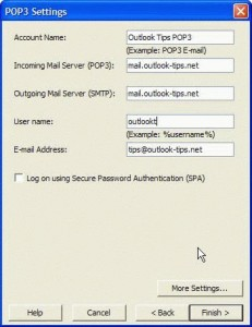 Create an Outlook PRF