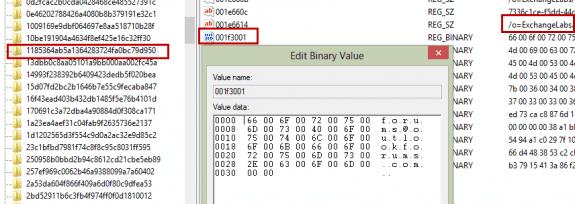 original registry key value