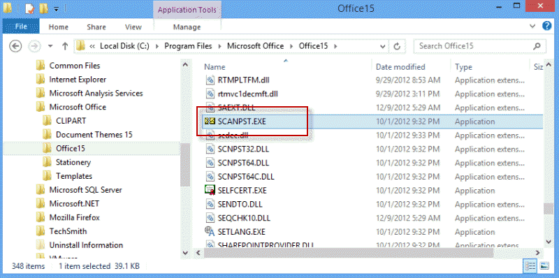 outlook recover deleted items
