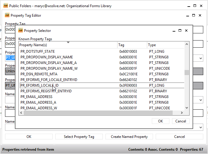 Organizational Forms Library in Exchange 2010
